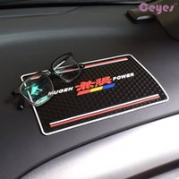 Wholesale cheap china phones for sale - China interior accessorie Cheap car non slip mat for MUGEN POWER Badge Super Adsorption Car Dashboard Phone Holder New Style Non Slip Mat