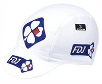 Wholesale Team Fdj - pro team fdj cycling caps tour de france cycling Bike Sunscreen Headwear Scarf Skull breathable quick dry Outdoor riding sports hats B1801