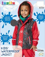 Wholesale Waterproof Hooded Poncho - German high quality children baby boy girl autumn winter waterproof windproof cold outdoor ski jacket breathable hiking hooded jacket 3M