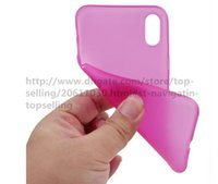 Wholesale Slim Case Iphone Free - 200PCS 0.3mm Ultra Thin Slim Clear Transparent Flexible Soft PP Cover Case Skin For iPhone x 8 7 Plus 6 6S 4.7 5.5 inch 5 5S Free Shippin