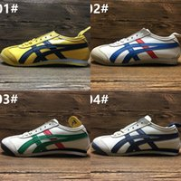 Wholesale Leather Wrestling Shoes - 2017 Wholesale Price Asics Tiger Bruce lee Flat shoes Running Shoes Men Women Leather Zapatillas Athletic Sport Sneakers Eur 36-44
