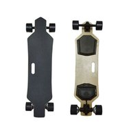 Wholesale 2017 New Popular Four wheel Remote Control Electric Skateboard Hoverboard Longboard Samsung Battery KM H Speeds Adjustable
