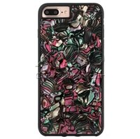 Wholesale black magic designs - New Design Colorful Shell Anti Fall Shockproof Soft TPU Magic Hybrid Phone Case For iPhone X 8 7 6s 6 Plus OPP BAG Aicoo