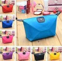 Wholesale Purse Candy Clutch - New candy Cute Women's Lady Travel Makeup Bags Cosmetic Bag Pouch Clutch Handbag Casual Jewelry Purses cosmetic gift purse DHL