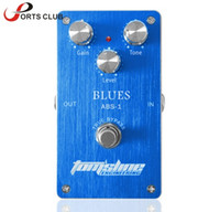 Wholesale guitars effects for sale - Group buy Mini Pedal ABS Blues Distortion Electric Guitar Effect Pedal Aluminum Alloy Housing True Bypass with Adjustable Knobs High