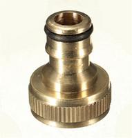 klopfen großhandel-XNEMON Wasser Rohrverbinder Rohr Tap Adapter 3/4
