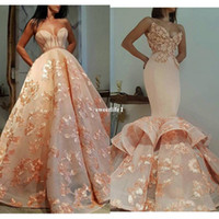 Wholesale Plus Size Maxi Dresses Sale - 2017 Maxi Style Embroidery Evening Dresses Sweetheart Neck Appliuques Mermaid Formal Occasion Dresses Custom Made Hot Sale