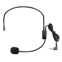 Wholesale Desktop Microphone For Pc - Wholesale Headset wire microphone for PC notebook desktop soft and comfortable to use