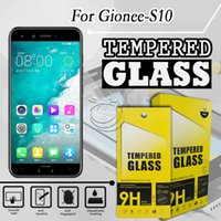 Wholesale gionee screen protector online – Tempered Glass Screen Protector For Gionee S10 S10B Huawei Nova plus YU yureka Black ZTE Nubia Z17 with paper packing in