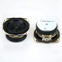 Wholesale Hifi Tweeter - Wholesale- 2pcs 55mm 2inch 15W 8ohm Full Range Speaker Home Theater HIFI Sub Woofer Tweeter Car Stereo Audio Loudspeaker Speaker Unit