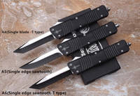 Wholesale Dragon Teeth - microtech benchmade knives 3350 tooth dragon automatic hunting knife 2017 NEW 6 styles Locking stability Ignore error survival knife