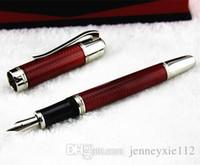 Wholesale Velvet Design - MB High Quality Best Design Luxury mb black blue red Fountain Pen Free Velvet Pouch