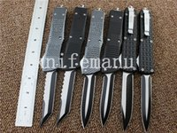 Wholesale Multitool Camping - high quality Microtech troodon Scarab tactical knife 440C blade otf utility hunting camping gear infidel knife multitool wholesale