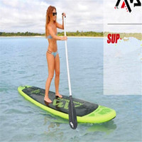 Wholesale Sup Stand Up Paddle - planche de inflatable sup surfing stand up paddle boards designed for low weight riders 300x75x10 cm volume 178L 95kgs load weight