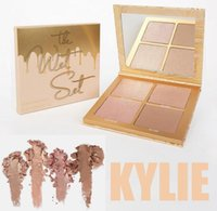 Wholesale Multi Way - Kylie Jenner Vacation The Wet Set 4color Bronzer & Highlighters Pressed Powder Palette Unbothered Get A Way By Kylie Cosmetics