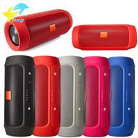 Wholesale Hi Power Mini Speaker - Charge2+ Wireless Speaker IPX5 WaterProof Mini Portable Bluetooth speaker with power bank