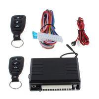 alarmas de los coches de control remoto al por mayor-Sistema de alarma para auto nuevo Sistema de entrada sin llave para vehículo 12V con cerradura de control remoto automático CAL_106