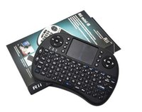 Teclado inalámbrico rii i8 teclados Fly Air Mouse Multi-Media Control Remoto Touchpad Handheld para TV BOX Android Mini PC B-FS