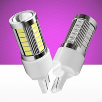Wholesale cars lights drl for sale - Group buy 2PCS T20 W21 W SMD Led Car Brake Lamp Rear Tail Bulbs SMD Auto DRL Daytime Running Light White Red Amber X