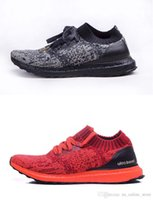 Wholesale Cosmic Black - Hypebeast x Ultra Boost Uncaged WM Real Boost LTD Sneakers For Men&Women All Black White Red Cosmic Primeknit Casual Sport Runners Shoes