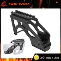 Wholesale Laser 17 - FIRE WOLF Tactical Laser Flashlight MAKO PRO GIS Rail Mount With Picatinny Rail For Glock Pistol 17 19 20 21 22 23 34 Gen 3 & 4