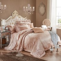 Wholesale High Thread Count Sheets - higher thread count jacquared bed sheet bedding four pieces per set,luxaury designs,queen and king size avaiblle qiaoranzanfang