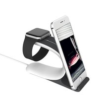 Wholesale Watch Holder Stand Sell - Newest ! Hot selling Phone holder&Mount Smart watch Stand holder For Cell Phone smart watch 2olors 50pcs lot