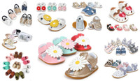 Wholesale Wholesale Sandals For Sale - the best gift for baby!12 pairs lot(can mix styles and sizes)hot sale style Summer baby shoes Fashion baby sandals Summer baby footwear