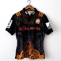 Wholesale Best Stock Shorts - New in stock 2017 best quality shirt Free shipping Chiefs NRL 17 Home Rugby jersey S-3XL 2016 2017 New Zealand Rugby