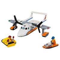 Wholesale Plane Brick Block - Lepin 60164 City Series Sea rescue plane remain Building Block Kids Educational Toys For Children Brick Toy