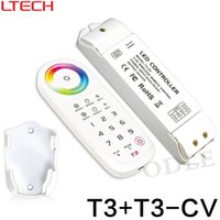 Wholesale Dc Unlimited - T3 2.4G RF Wireless touch RGB controller sync control unlimited receivers work with T3-5A T3-CV T3-CC Receiving controller