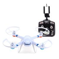 drone syma x5c 2.4g toptan satış-Orijinal Küresel Drone GW007 GW007-1 Yükseltilmiş Versiyonu 4CH 6-Axis WiFi FPV 2.4G RC 2MP Kamera VS SYMA X5C H12C Ile RC Quadcopters