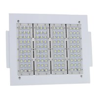 Wholesale Gas Crystals - 160W Gas Station lighting Led Low Canopy light industrial factory high bay 6000K Crystal White 100-277V 120lm W
