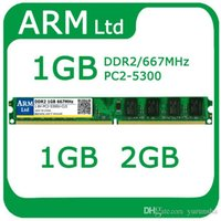 Wholesale Ddr2 Desktop 667mhz 2gb - Wholesale New Sealed DDR DDR2 1GB 533 667 800HMz DDR2 2GB PC5300 6400 sodimm for Desktop RAM fast shipping