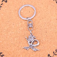 Wholesale Antique Solid Silver - New Fashion mermaid Keychains Antique Silver plated Keyholder fashion Solid Pendant Keyring gift