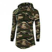 Wholesale Low Price Shirts - 2017 PROMOTION LOW PRICE Men's Camouflage Long Sleeve Hooded sweatshirt tops T-shirt