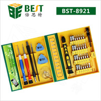 Wholesale Iphone Tools Best - Free Shipping BST-8921 Screwdriver BEST 38 in 1 Screwdriver set screwdriver kit phone Opening Repair tool for mobile phone, PC, Laptop