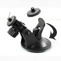 Wholesale Suction Mounted Video - Wholesale- car Windshield Mini Suction Cup Mount Holder for Car Digital Video Recorder Camera Latest styles New high quality @#110