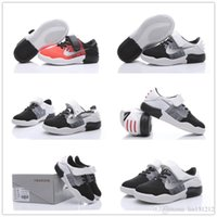 Wholesale Panda Children Shoes - Discount Youth kobe 11 Kids Basketball Shoes Boys Sneakers Children Athletic Shoes Panda Sports Shoe kids Children Size 26-35