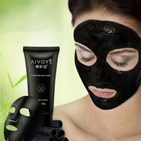 Wholesale Clear Nose Pores - AFY Suction Black Mask Good Blackhead Removal Mask Effective Full Face Blackhead Treatments Clear Blackhead From Nose Cheek 3006011