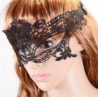mujer sexy bailando velos al por mayor-Hollow lace velo mask diversión sexy máscara party party dance bar nightclub reina suite gafas