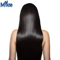 Wholesale Factory Direct Deals - 4 Bundles Indian Human Hair Straight Weaves Factory Direct Offer 100% Human Hair Extensions Bundles Deal MikeHAIR Indian Hair Weft