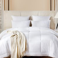 Wholesale Duvet Cover Cotton Solid - High-end hotel bedding white quilts core 1.5 meters 2.0 meters four seasons can be used
