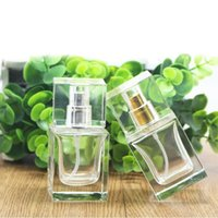30ml Clear Glass Perfume Bottles Fragrance Parfum Atomizer Vazio Refilável Cosmetic Spray Bottle Travel Packaging ZA3422