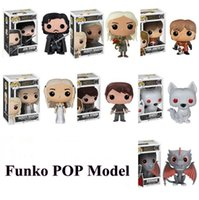 Wholesale Wholesale Dragon Models - Funko POP Models Game of Thrones Daenerys Mother of Dragons Action Figures Game of Thrones Model CCA7400 10pcs