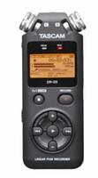 grabadora tascam al por mayor-Al por mayor-Original Tascam dr-05 Handheld profesional grabadora de voz digital portátil MP3 Recordin versión 2 con 4 GB micro SD