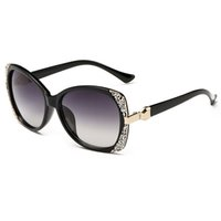 Wholesale Rhinestone Designer Sunglasses - Sunglasses For Women Luxury Sunglass Womens Fashion Sunglases Ladies Vintage Sun Glasses Woman 2017 Rhinestone Designer Sunglasses AC7J4