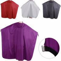 robes pour adultes achat en gros de-1 PC Pro Adulte Imperméable Salon Coupe De Cheveux Coiffure Barbiers Tissu Cape De Robe