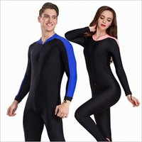 Wholesale Xxl Men S Swimwear - Waterski Full body Women and Men Jellyfish clothing Scuba Diving Surfing Snorkeling Fishing boating swimwear Wetsuit Swim stinger suit