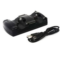 Wholesale Move Power Charger - USB Powered Dual Charging Dock Charger for Sony for PlayStation 3 for PS3 Move Navigation and Controller New Arrival